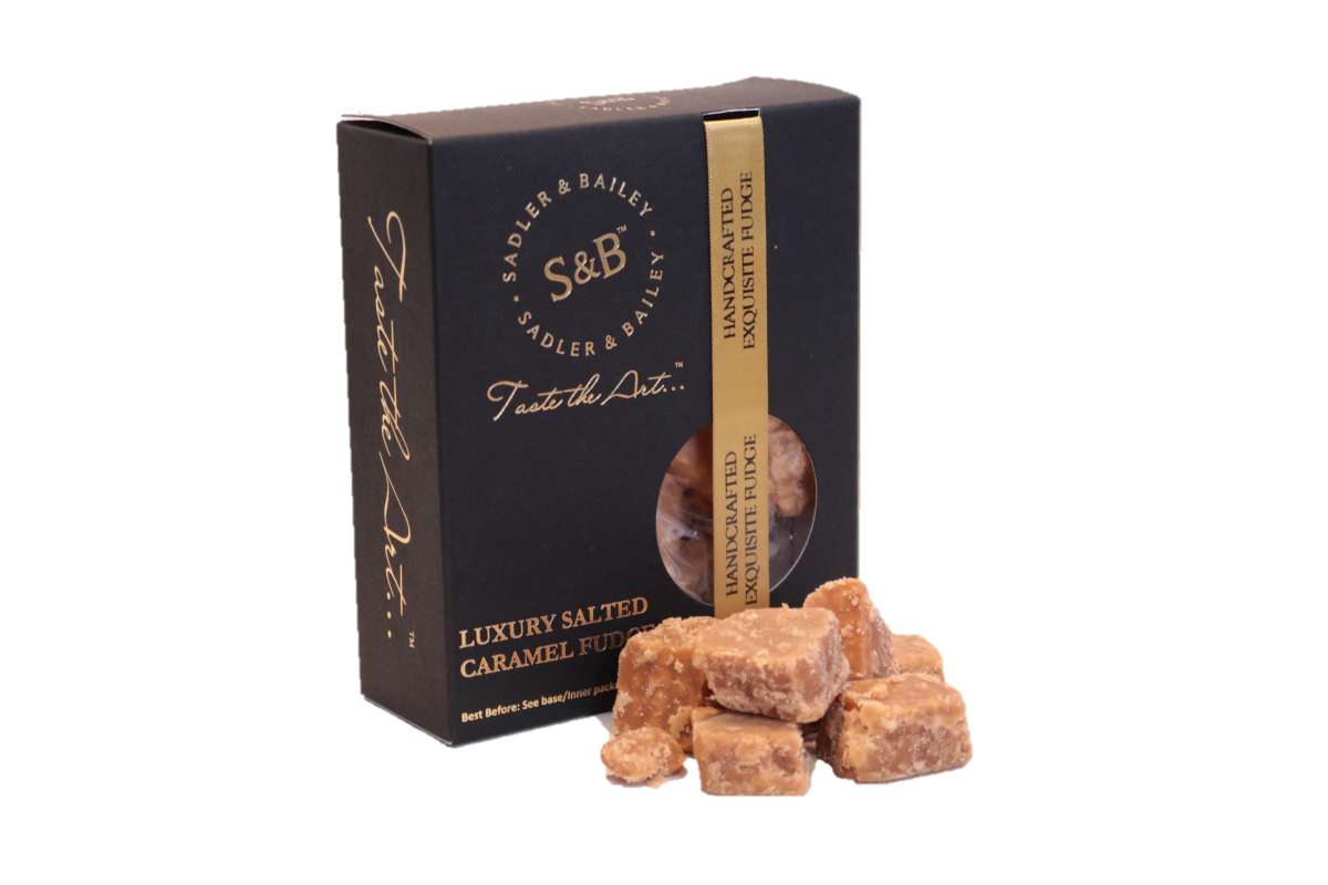 Luxury Gift Box Salted Caramel 150g